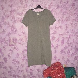Grey old navy stretchy dress